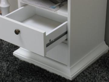2x Nachttisch weiß - 3