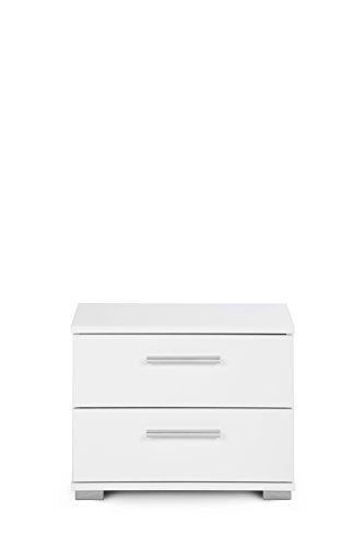 Intertrade 000914 Nachtkommode Komo, 45 x 35 x 34 cm, dekor weiß - 4