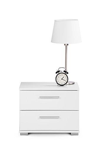 Intertrade 000914 Nachtkommode Komo, 45 x 35 x 34 cm, dekor weiß - 5