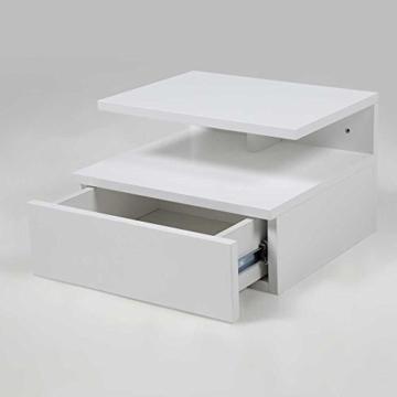 nachttisch jugendstil modern wei eckig holz h ngend schublade schr nkchen boxspringbett. Black Bedroom Furniture Sets. Home Design Ideas