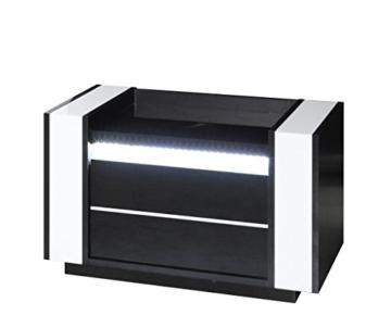 Affordable Modern Schwarz Wei Holz Schrnkchen Schublade Stehend Eckig With  Nachttisch Wei Modern