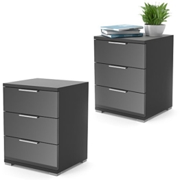 boxspringbett design nachttische. Black Bedroom Furniture Sets. Home Design Ideas