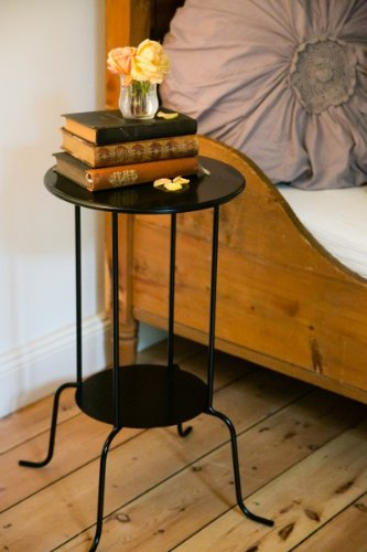 beistelltisch cocktailtisch nachttisch landhaus rund. Black Bedroom Furniture Sets. Home Design Ideas