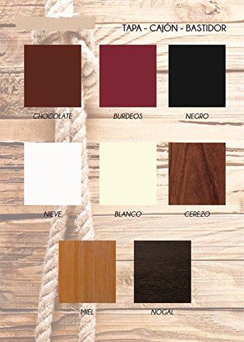 Geschäfte Factory muebles–Angebot Rabatt 50%, hochwertiger Sockel- oder Nachttisch Schublade, Holz. Vielzahl von Farben zur Auswahl. KOSTENLOSE LIEFERUNG. Schwarz -
