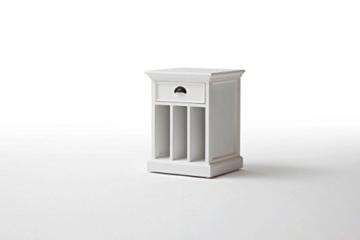 Halifax Landhausmöbel Beistellschrank Nachttisch Bedside Weiß Landhaus Fertig Montiert -
