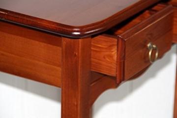 Massivholz Nachttisch Beistelltisch Nachtkommode Holz massiv kirsch -
