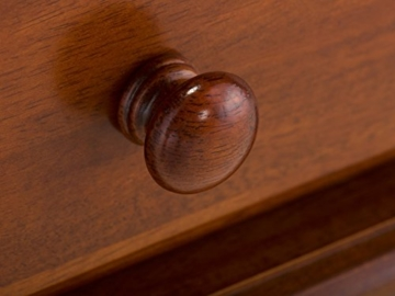 massivum Beistelltisch Byzanz 54x59x40 cm Rubberwood braun gebeizt und lackiert -