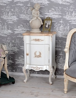 Nachtschrank Villa Vintage Nachtkommode Nachttisch Shabby Chic -